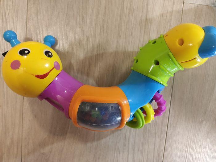 Игрушка Весёлый червячок / гусеница Huile toys Киев - изображение 1