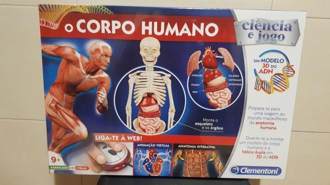 O corpo Humano - jogo Clementoni por estrear!