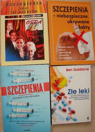 Szczepienia - Jerzy Jaśkowski i inni - zestaw książek