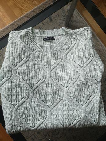 Miętowy dłuższy sweter Atmosphere 8
