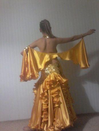продам платье для бальних таниев стандарт рост 150-160