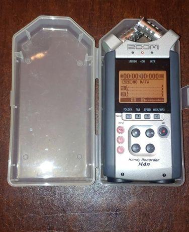 Рекордер Диктофон Zoom H4N зум два XLR входа аналог Tascam DR 40 H2N