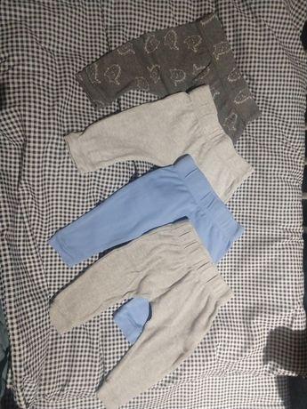 4szt spodnie legginsy Sinsay 68