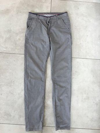Szare eleganckie spodnie King Bon r.S