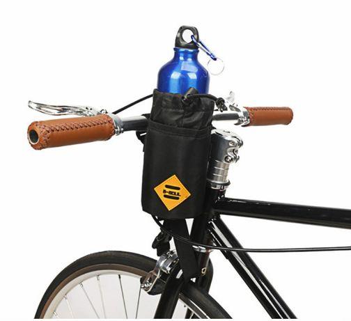 Сумка на вело кермо /термо-чехол фляги до 1л.