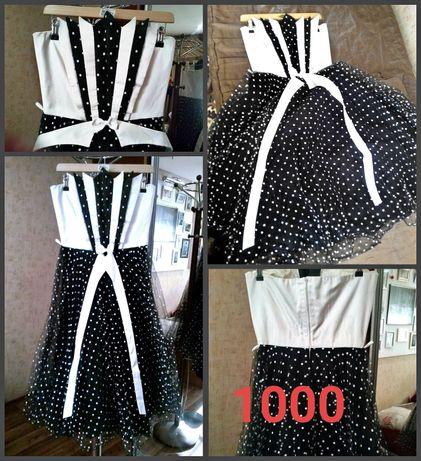 Платье выпускное 1000р