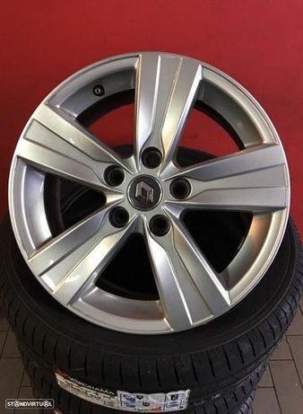 Jantes 16 Originais Renault Megane/Talisma/Senic usadas igual a novas c/ pneus