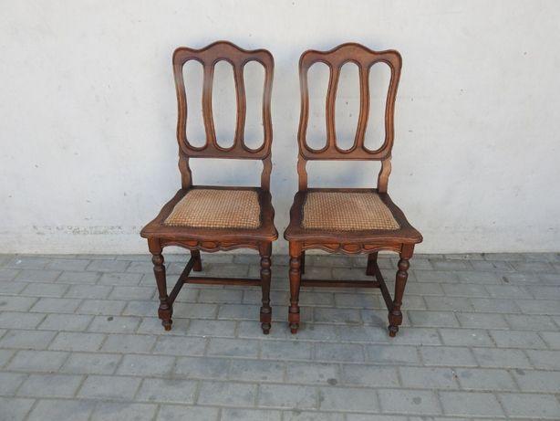 Antyczny komplet 2 krzeseł secesyjnych 673
