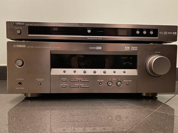 Amplituner wzmacniacz Yamaha RX-V359 + DVD S559mk2