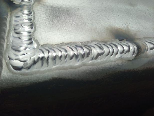 Ремонт деталей з алюмінію, нержавійки, міді.