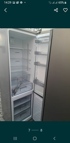Високий холодильник Bosch, фасад нержавійка,з Німеччини з гарантією.