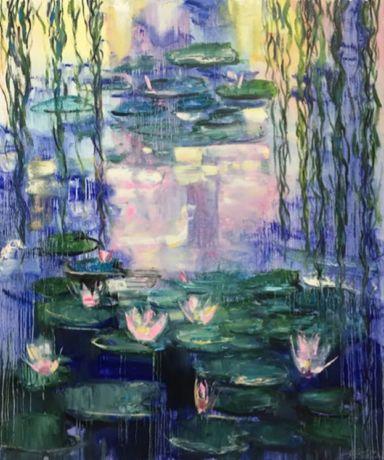 Картина *Водяные лилии*
