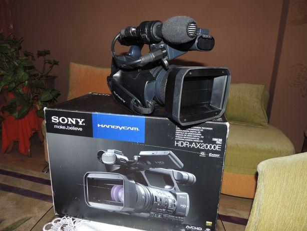 Kamera Sony XDR-AX2000E