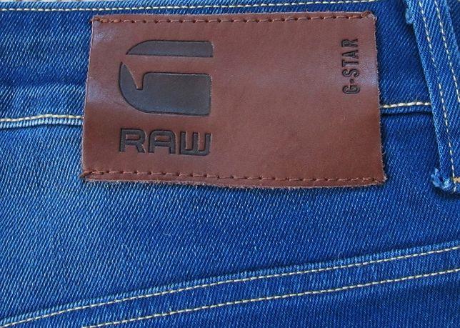 Оригинал G-STAR RAW 3301 Slim джинсы W31 L34