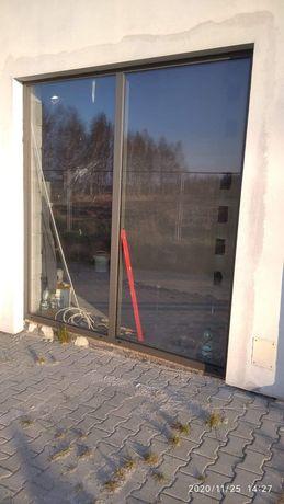 Okno 260cmx250cmstałe szklenie