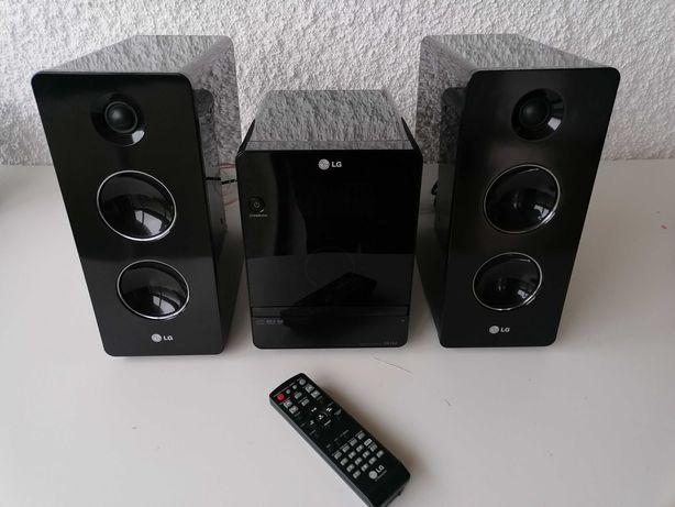 Mini Hi-Fi LG FA 162F - como nova -  160 Watts