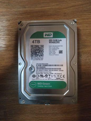 Жесткий диск 4Tb Hdd 4тб Western Digital WD40EZRX идеал