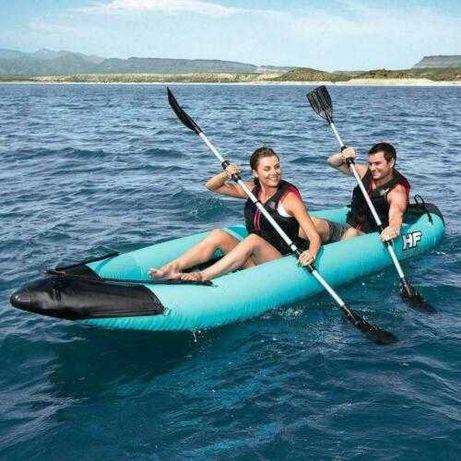 Kayak Insuflável c/ 2 Remos 330x86x48cm *Artigo Novo*