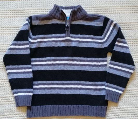 Sweterek PLACE stójka 110-116 cm, na 5-6 lat