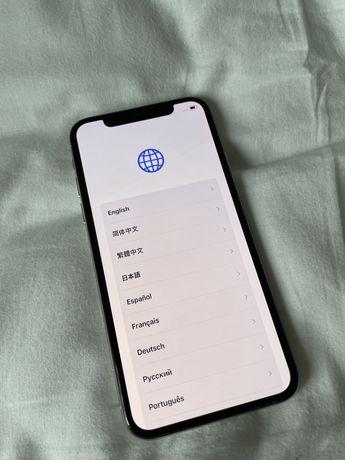 Iphone X zbity tył