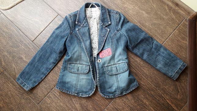 Джинсовый пиджак next,6 лет