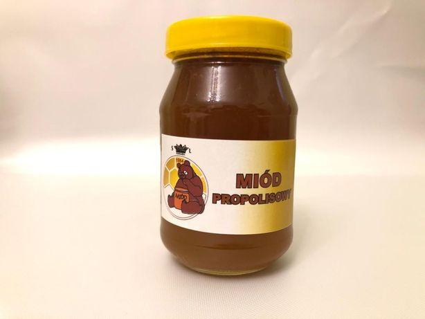 MIÓD PROPOLIS z własnej pasieki CIESZYŃSKIEJ 200 ml - Skoczów