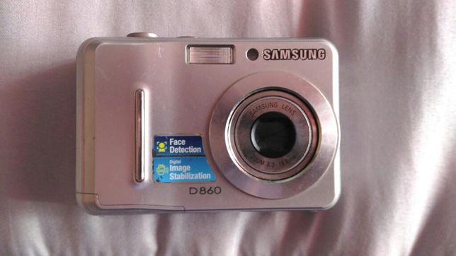 Máquina fotográfica Samsung D860