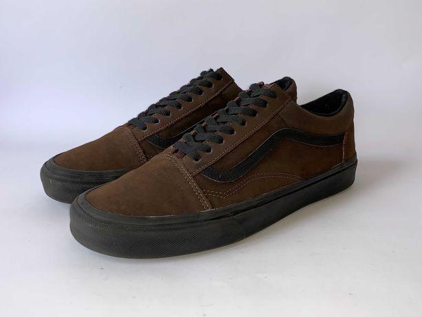 Кеди кросівки шкіряні Vans Розмір 45 (29 см) Оригінал Стан відмінний!