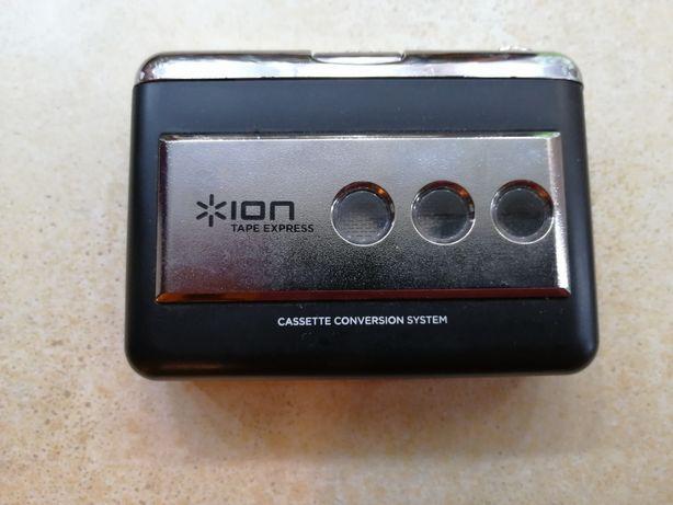 Urządzenie do przegrywania kaset magnetofonowych.