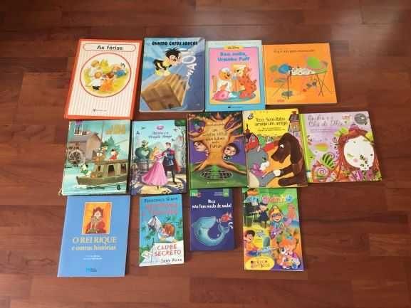 Livros infantis variados (13)