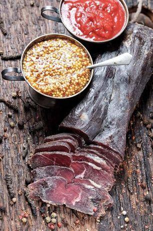 Сирокопчене Крафтове мясо з Конини Бастурма Королівська