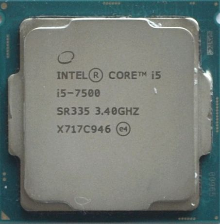 Процессор i5 7500 3.4GHz 6Mb Intel Core 1151 SR335 | Гарантия 1 Год