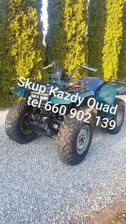 Skup QUAD QUADÓW ATV Polaris Can am suzuki kawasaki yamaha Honda Trx