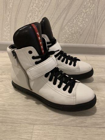 Ботинки Prada оригинал, кожа