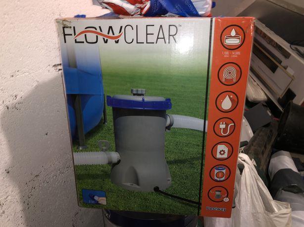 Pompa filtrującą do basenu + tabletki chlorowe