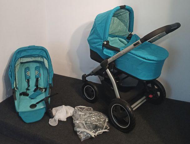 Maxi Cosi Mira 4 Plus Mosaic blue wózek wielofunkcyjny