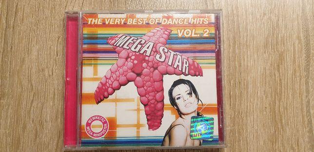 Mega Star_The very best of dance hits vol. 2_Płyta CD_Oryginał (hologr