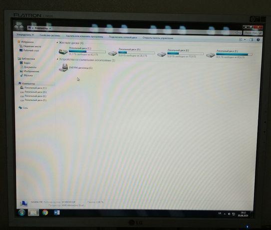 Комп'ютер + монітор. Бонус ціна 1700 грн