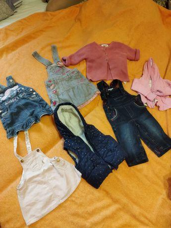 Подарую речі для дівчинки 3-6 місяців