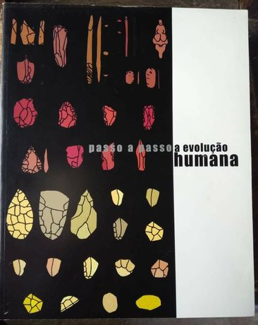"""Livro """"Passo a passo a evolução humana"""" em bom estado"""