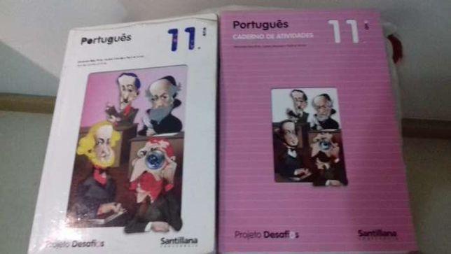 Manual de Português 11° ano Projeto Desafios - Santillana
