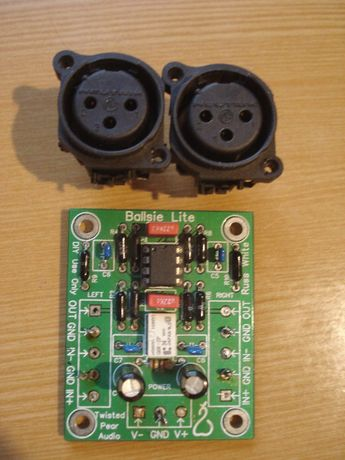 Продам плату адаптера балансного сигнала в небалансный XLR - RCA Обмен