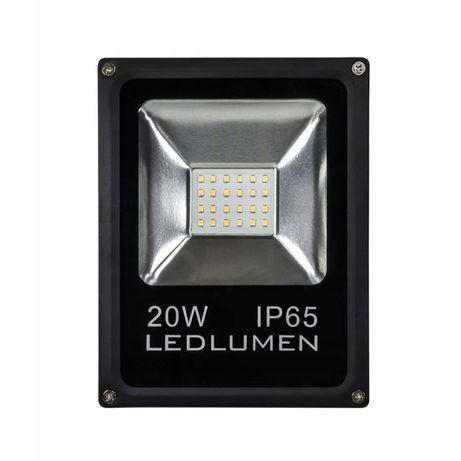 Naświetlacz Halogen Slim LED 20W=115W CW LEDLUMEN