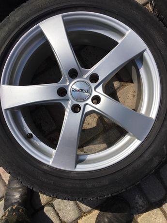 Диски Dezent з літніми шинами Michelin 225/55 R18
