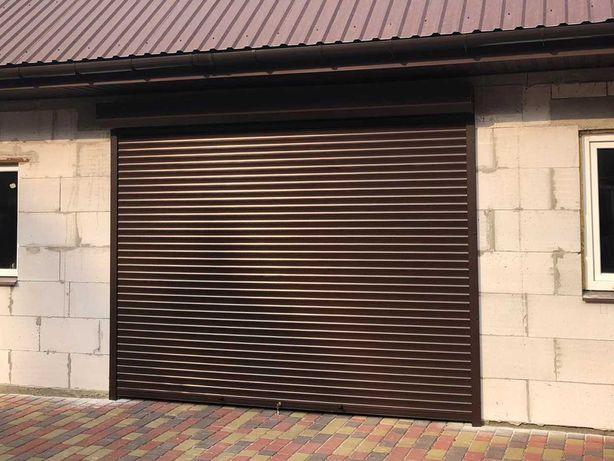 Роллетные и секционные гаражные ворота. Защитные ролеты на гараж