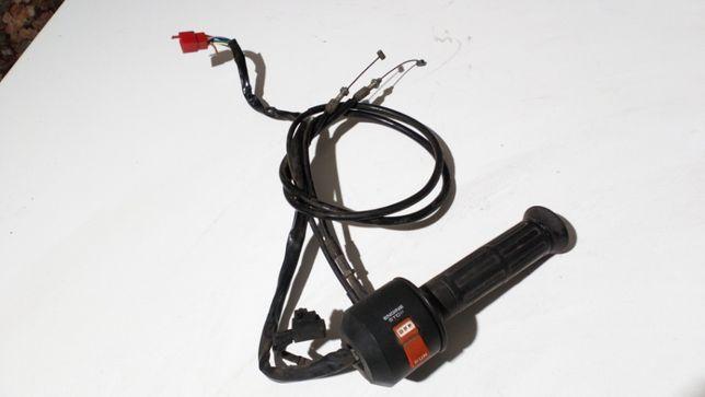 HONDA VF 500 C MAGNA manetka gazu przełącznik prawy linki GAZU