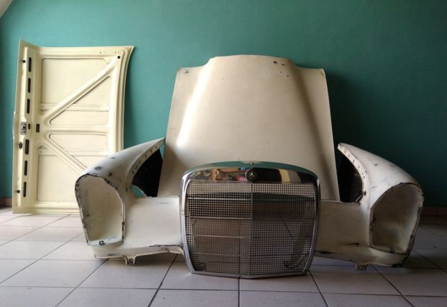 2 Guarda-lamas- Peças Mercedes Clássico W108/W109