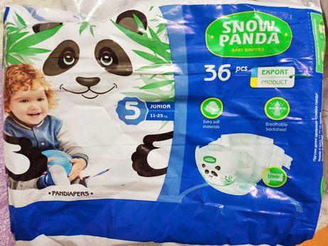 Подгузники Snow Panda Снежная панда 5 размер, 11-25 кг, 36 шт.