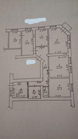 Продам свою 5 комнатную квартиру в центре!!!