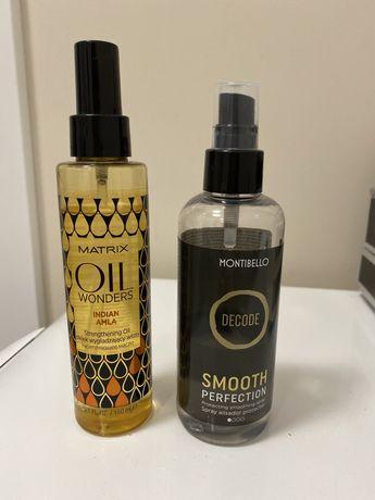 Montibello Smooth Perfection spray termoochronny, Matrix Oil Wonders